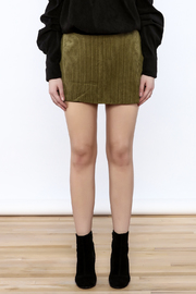 Shoptiques Product: Cool Corduroy Skort - Side cropped