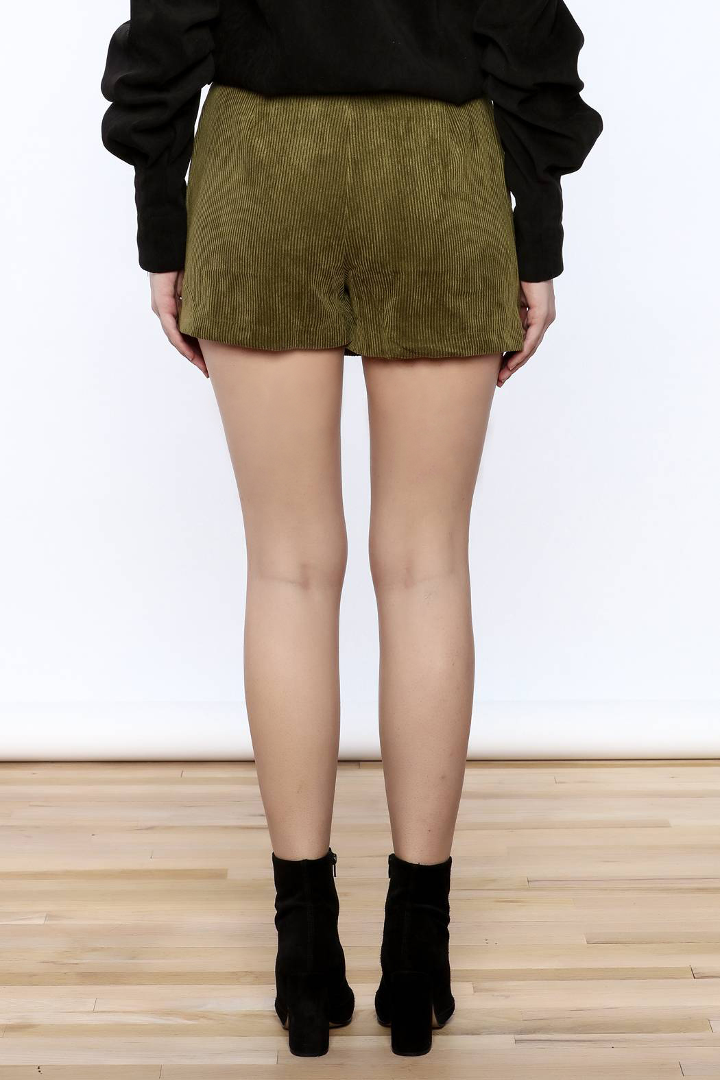 Pinkyotto Cool Corduroy Skort - Back Cropped Image