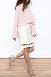 Pinkyotto White Pencil Skirt - Front full body