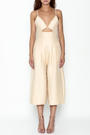 Pinkyotto Cut Out Palazzo Jumpsuit - Front full body