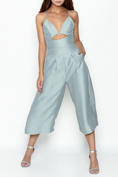 Shoptiques Product: Cut Out Palazzo Jumpsuit
