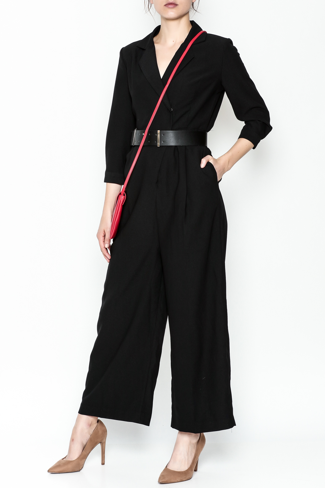 Pinkyotto Double Breasted Jumpsuit - Main Image