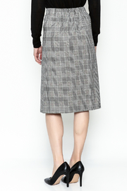 Pinkyotto Double Button Pencil Skirt - Back cropped