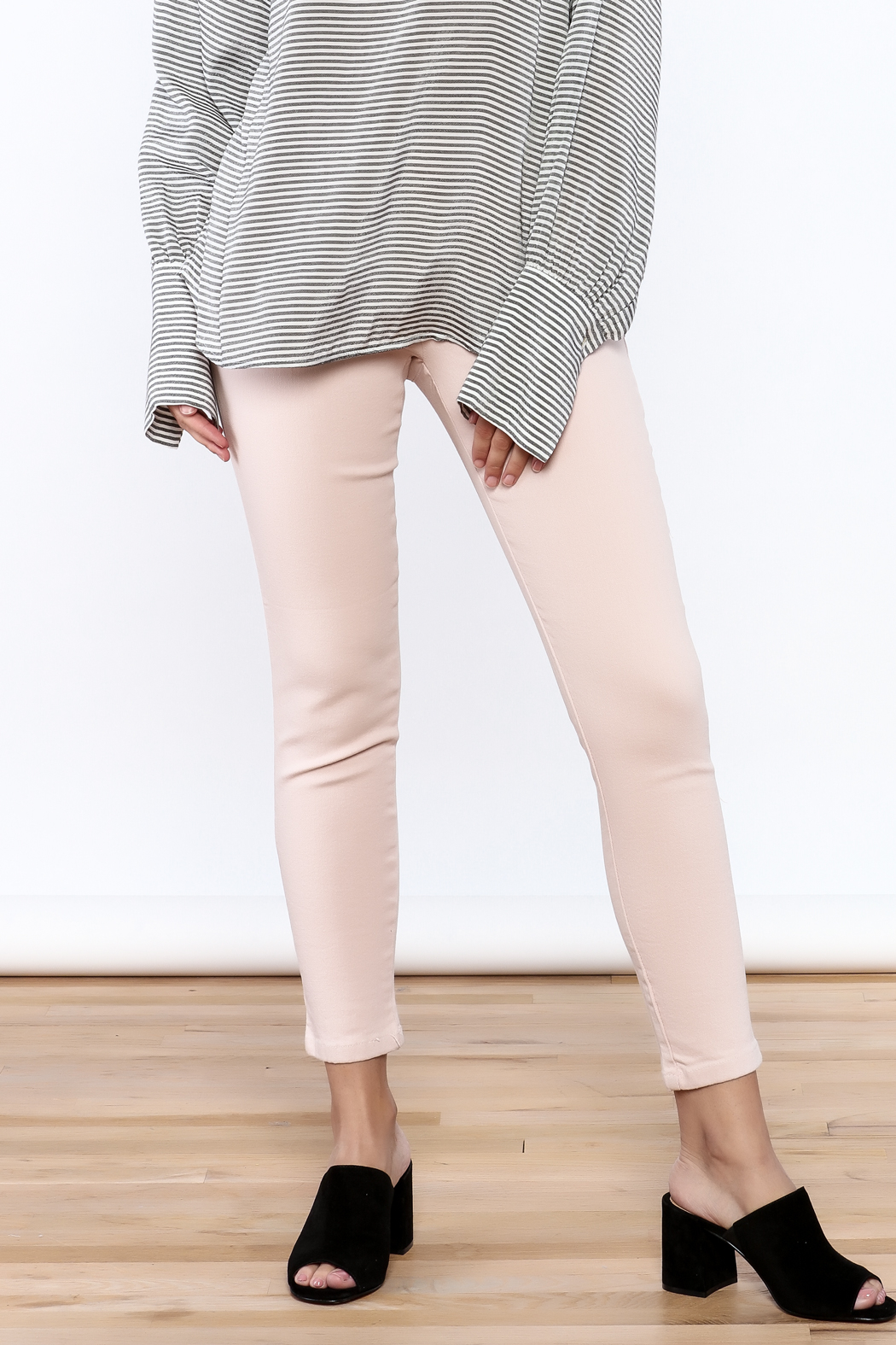 Pinkyotto Pull On Jeggings - Front Cropped Image