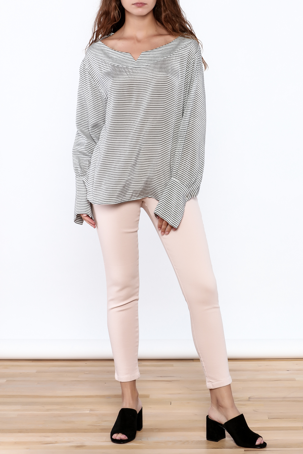 Pinkyotto Pull On Jeggings - Side Cropped Image