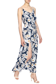 Pinkyotto Strapped Maxi Dress - Front cropped