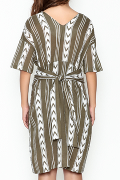 Pinkyotto Double V Tribal Tie Dress - Alternate List Image