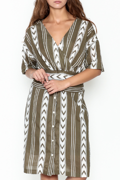 Pinkyotto Double V Tribal Tie Dress - Product List Image