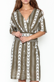 Pinkyotto Double V Tribal Tie Dress - Product Mini Image