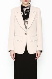 Pinkyotto Drape Back Chic Blazer - Front full body