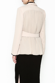 Pinkyotto Drape Back Chic Blazer - Back cropped