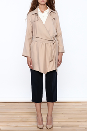 Pinkyotto Beige Loose Trench Coat - Other