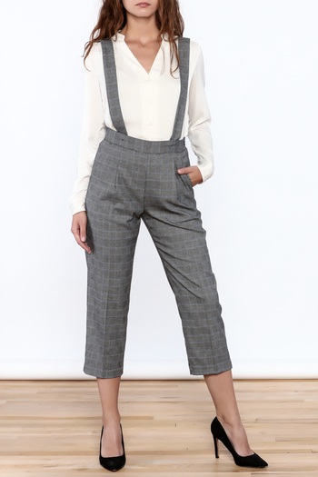 Pinkyotto Chic Cropped Jumpsuits - Main Image