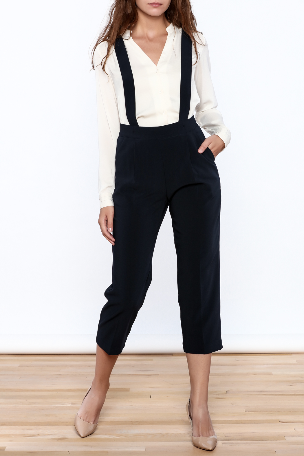 Pinkyotto Chic Cropped Jumpsuits - Front Cropped Image