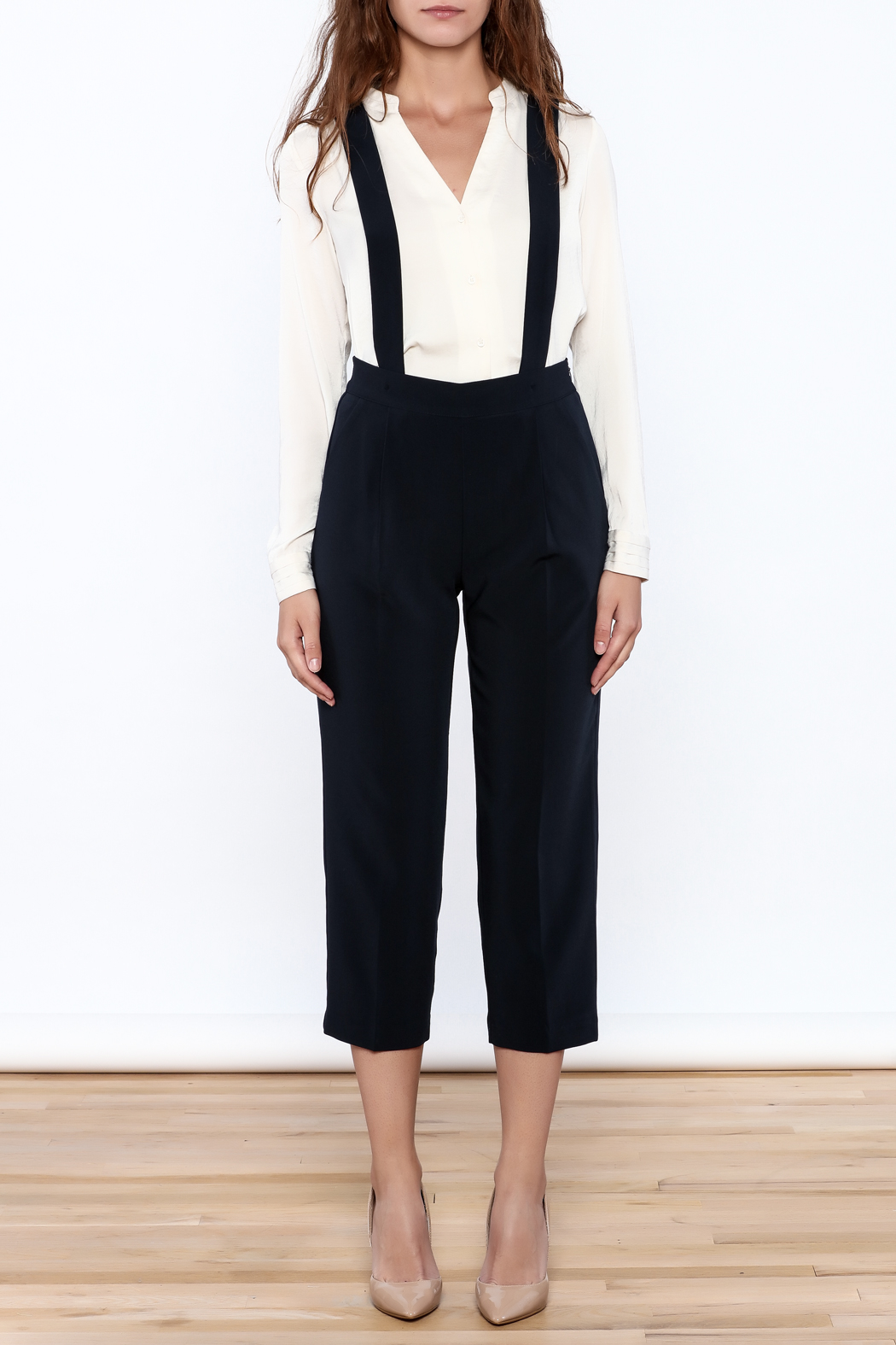 Pinkyotto Chic Cropped Jumpsuits - Front Full Image