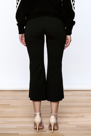 Pinkyotto Black Bell Pants - Back cropped