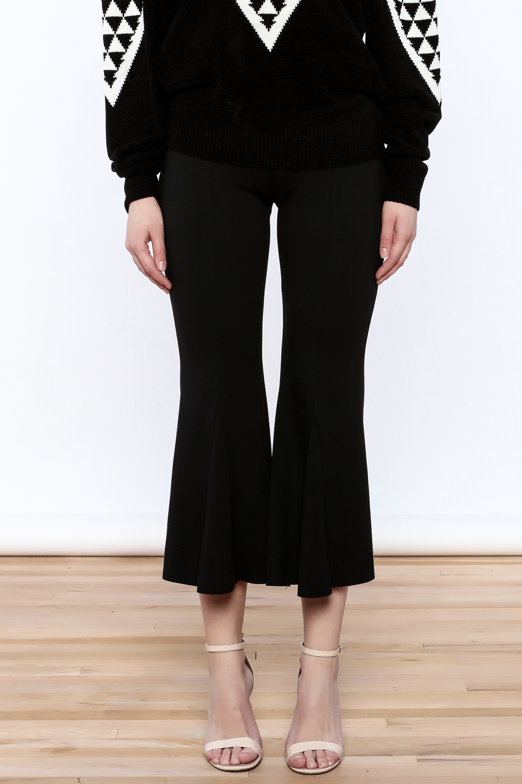 Pinkyotto Black Bell Pants - Side Cropped Image
