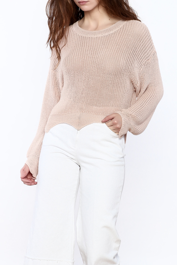 Pinkyotto Loose Knit Sweater - Main Image