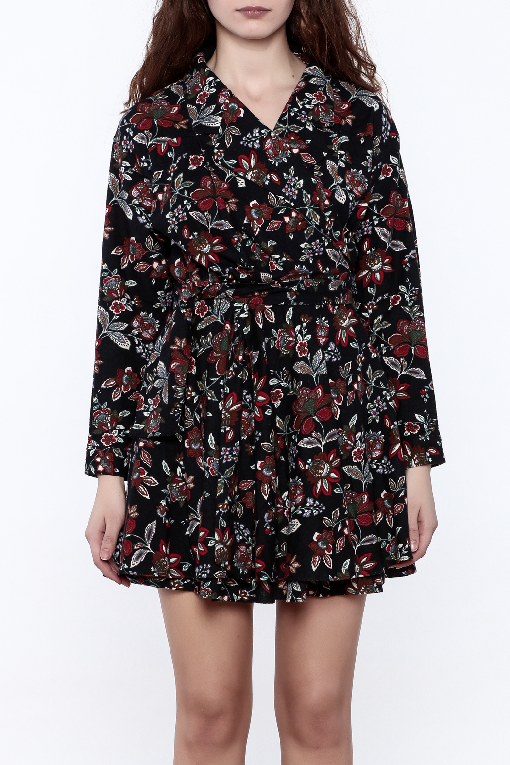 Pinkyotto English Garden Wrap Dress - Side Cropped Image
