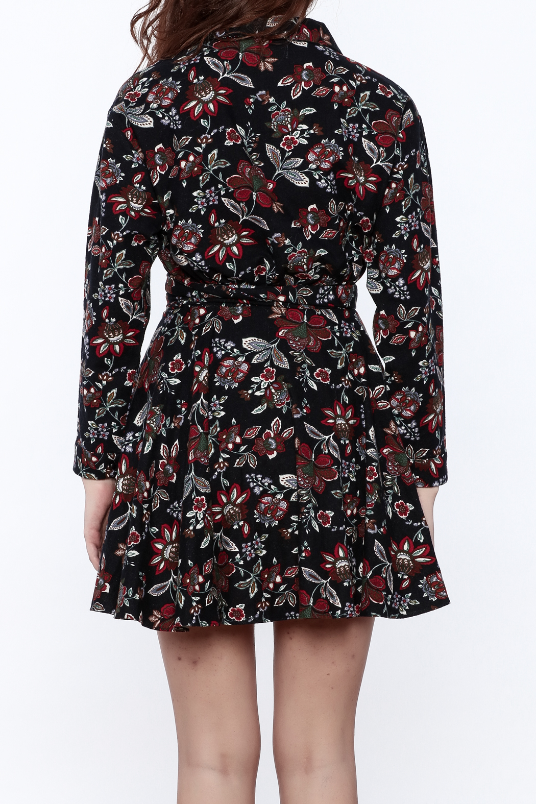 Pinkyotto English Garden Wrap Dress - Back Cropped Image