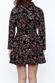 Pinkyotto English Garden Wrap Dress - Back cropped