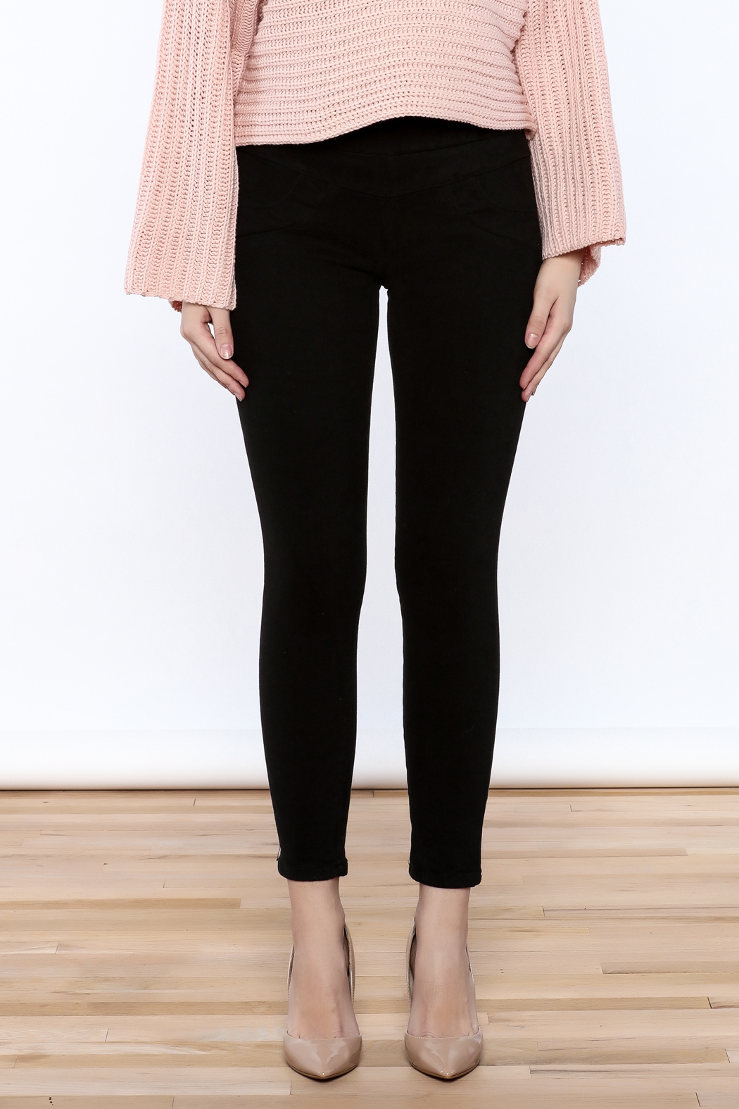 Pinkyotto Fleece Lined Jegging Pant - Side Cropped Image