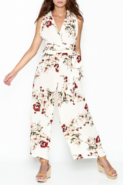 Pinkyotto Floral Halter Jumpsuit - Product Mini Image
