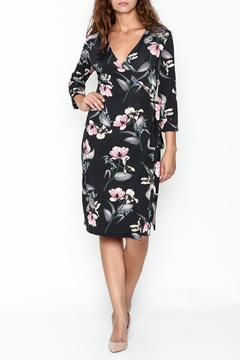 Pinkyotto Floral Wrap Dress - Product List Image