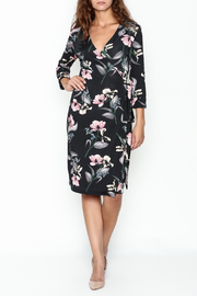 Pinkyotto Floral Wrap Dress - Product Mini Image