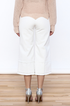 Pinkyotto Frayed Hem Wide Leg Pant - Alternate List Image
