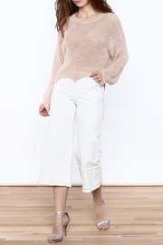 Pinkyotto Frayed Hem Wide Leg Pant - Front full body