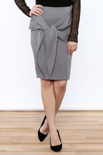 Shoptiques Product: Front Knot Skirt - main
