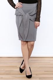 Shoptiques Product: Front Knot Skirt - Front cropped