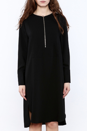 Pinkyotto Zip-Up Knee Dress - Side cropped