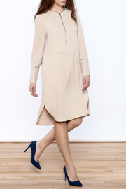 Shoptiques Product: Zip-Up Knee Dress - Front full body