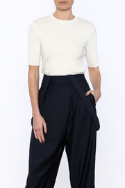 Pinkyotto Gauzy Sheer Layer Top - Front cropped