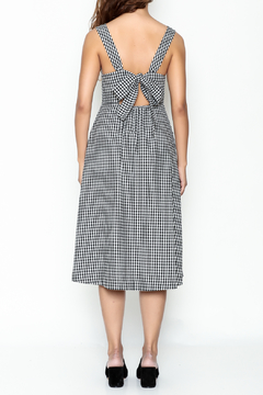Pinkyotto Gingham Tie Dress - Alternate List Image