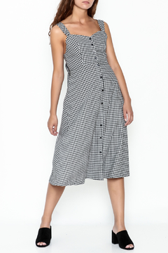 Pinkyotto Gingham Tie Dress - Product List Image