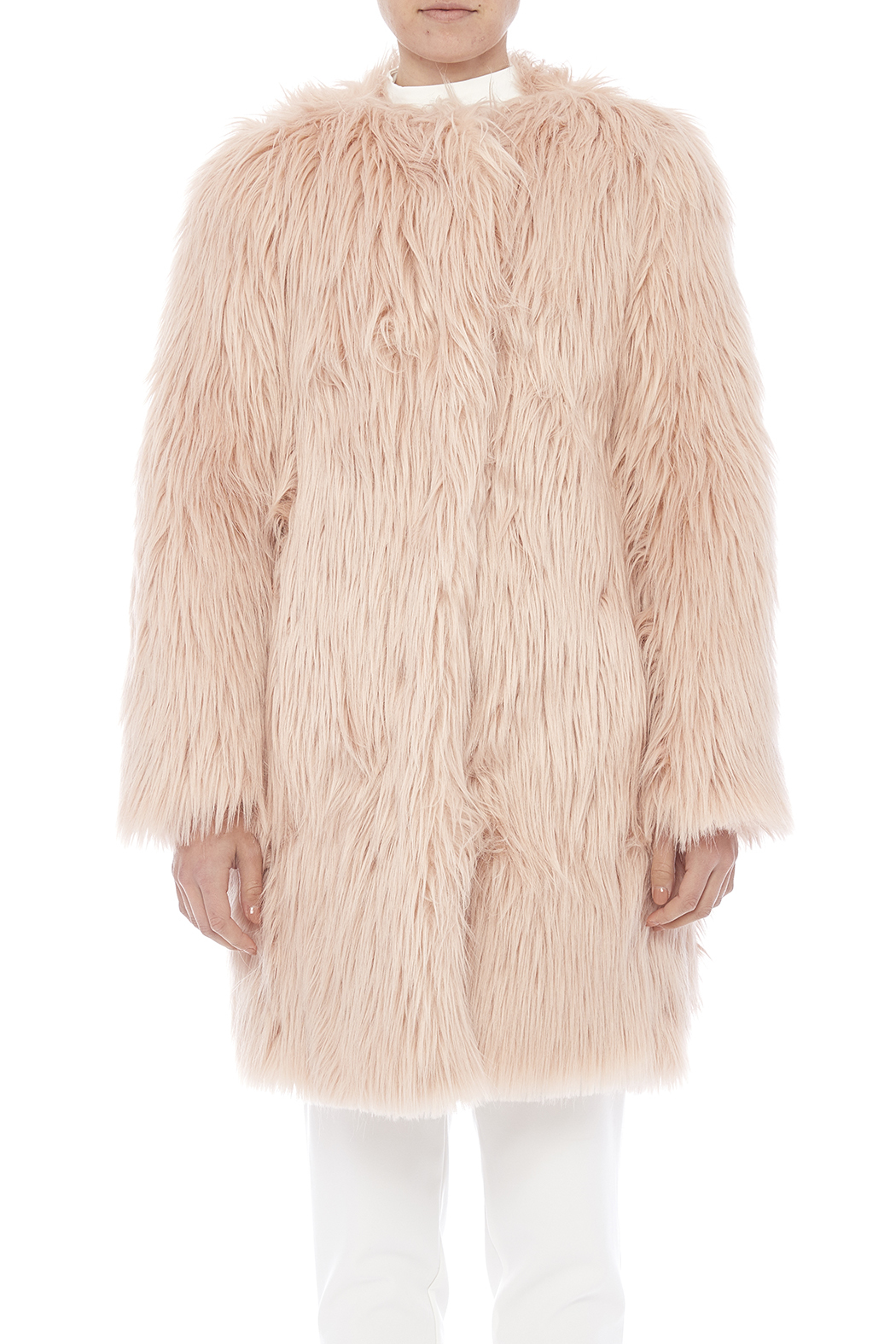 Pinkyotto Hairy Jacket from Nolita — Shoptiques