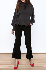 Shoptiques Product: High Collar Peplum Blouse - Front full body