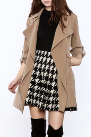 Pinkyotto It Girl Trench - Front cropped