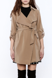 Pinkyotto It Girl Trench - Side cropped