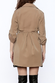 Pinkyotto It Girl Trench - Back cropped