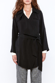 Pinkyotto Black Loose Trench Coat - Product Mini Image