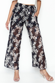 Pinkyotto Jungle Drawstring Pant - Product Mini Image