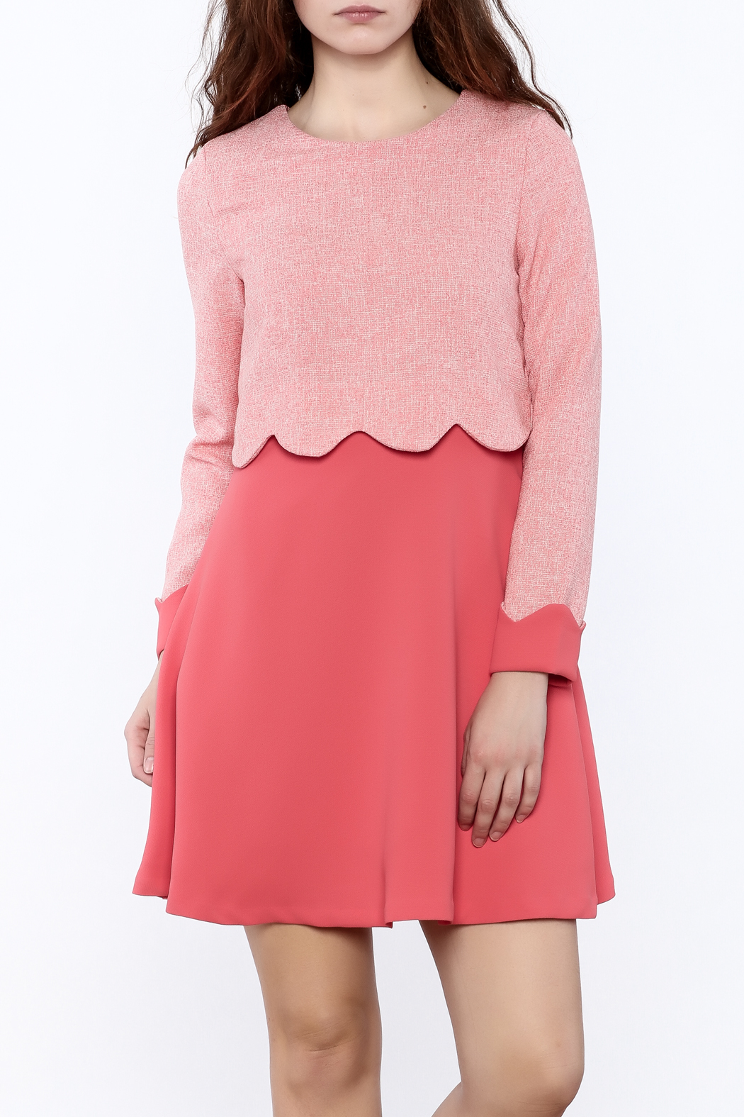 Pinkyotto Whimsy Mini Dress - Front Cropped Image