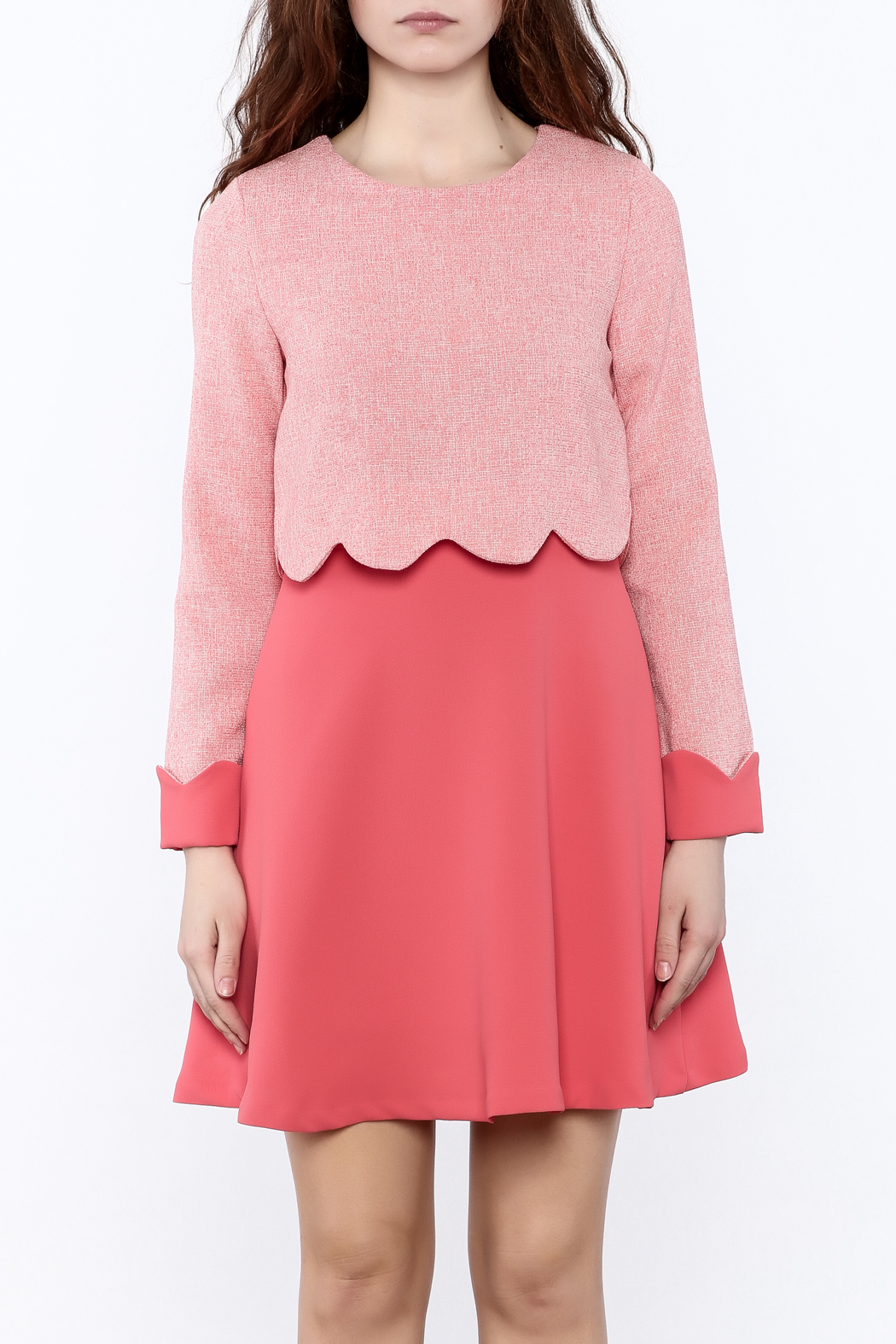 Pinkyotto Whimsy Mini Dress - Side Cropped Image