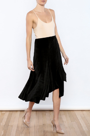 Shoptiques Product: Let's Tango Velvet Skirt - Front full body
