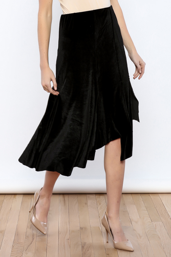 Shoptiques Product: Let's Tango Velvet Skirt - main