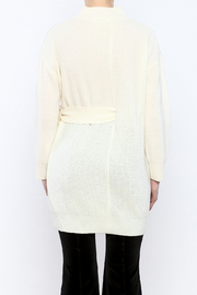 Pinkyotto Mod Belted Sweater - Back cropped